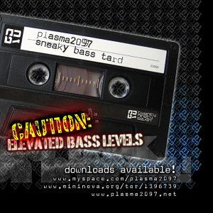 PLASMA2097 - Sneaky Bass Tard Web Cover Artwork
