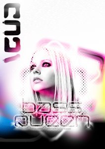 PLASMA2097 Bass Queen Poster